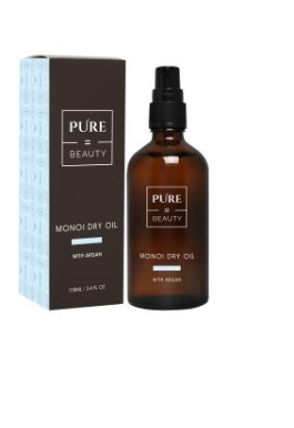 Pure=Beauty Monoi dry oil  with Argan100ml